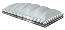 The SKYPRO Illuminator Industrial Skylight by SKYCO Skylights has an industry leading 10 Year Warranty.