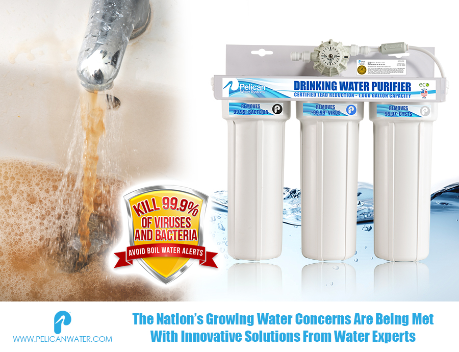 The Nation S Growing Water Concerns Are Being Met With