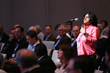 SMPTE 2015 Attendee asks a question during a Technical Conference Session
