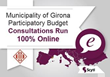 The Municipality of Girona Upgrades Their Participatory Budget Consultations to Run 100% Online