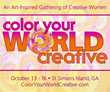 Color Your World Creative from October 13 – 16 Offers Women the Opportunity to Relax and Recharge