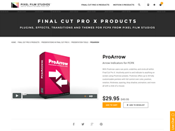 ProArrow - Pixel Film Studios Plugin - FCPX