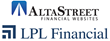 AltaStreet Financial Websites and Marketing Chosen by the Nation's Largest Independent Broker/Dealer* and Leader in the Retail Financial Advice Market