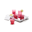 Aurora Drinkware in Ruby by Q Squared NYC