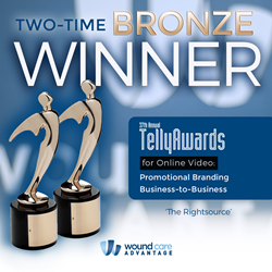 TWO-TIME TELLY AWARD WINNER - Wound Care Advantage