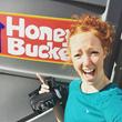 Honey Bucket Selfie