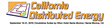 Seize New Opportunities in California's emerging DER Market at California Distributed Energy Summit