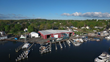 Essex Boat Works Aerial View