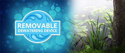 Removable Dewatering Device is a utility patent that will be used anywhere in the construction industry.