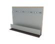 The Universal Step Flashing Channel is  designed to provide a more cost and time efficient way to protect walls and roofs.