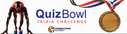 Screenshot of online Quiz Bowl Trivia Challenge header