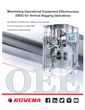 On New Website, Rovema Offers Downloadable Operational Equipment Effectiveness Guide for Vertical FFS Bagging