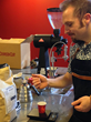 Crimson Cup's Brandon Bir teaches hand-pour coffee