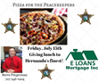 A Group Of Loan Officers Across The Country Is Sending Pizza To Their Local Law Enforcement Agencies To Say Thank You And Show Their Support