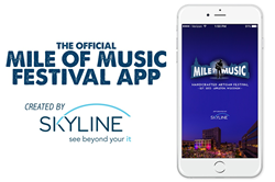 Mile of Music App from Skyline Technologies Receives Recognition from Microsoft