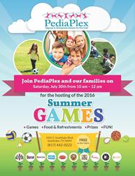 PediaPlex-2016-Summer-Games