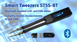 New Bluetooth Model of Smart Tweezers LCR-meter Offers Two-Way Communication Between the LCR-meter and Computer