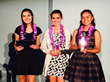 Teams from Redwood City, CA, and Zapopan, Mexico, accept their awards at the 2016 Technovation World Pitch awards ceremony