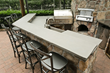OSSO Concrete Design Outdoor Kitchen GFRC Countertop