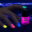 Glow Neon Nail Polish from Glowsoure.com