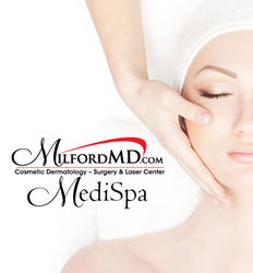 MilfordMD is now offering professional MediSpa services, from facials, body waxing, peels, microdermabrasion and more