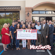 Mugshots Grill & Bar Opens Malbis Location with Ribbon Cutting and Check Presentation