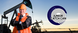 The Junior Catch Can is an oil mining invention that saves you from unnecessary rig down time or damaged drills!