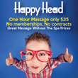 Happy Head Massage Launches New Deal Of The Week Discount Program