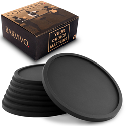 Protect your tabletops with this barvivo coaster set