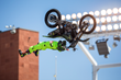 Monster Energy's Taka Higashino Took Third in FMX at the First Ever Nitro World Games.