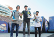 Monster Army's Colton Walker Took First in BMX Triple Hit and Monster Energy's Alex Coleborn Took Third at the First Ever Nitro World Games.