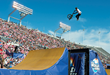 Monster Energy's Alex Coleborn Took Third in BMX Triple Hit at the First Ever Nitro World Games.