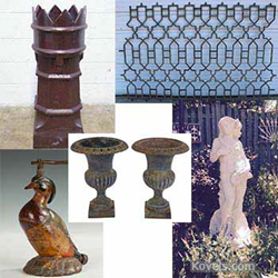 kovels, antiques, collectibles, garden antiques
