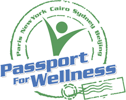 Passport for Wellness Senior Fitness Logo