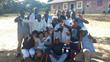 White Pearl Resorts Team Volunteers at Escola Primaria Da Ponta Mamoli in Ponta Mamoli During Mandela Day Festivities