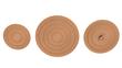 Wine corks reimagined as an elegant design option.