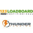 123Loadboard and Thunder Funding Announce Partnership To Fund Freight Carriers Who Find Loads on 123Loadboard's Web and Mobile App Platform