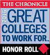 "WesternU named ""Great College to Work For"" Five Straight Times by The Chronicle of Higher Ed"