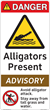 Best Practice 'Alligators Present' Safety Signs From Clarion Safety Systems Now Available For Online Ordering