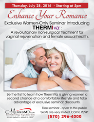 ThermiVa in Vogue and now offered at MilfordMD Cosmetic Dermatology Surgery & Laser Center in Milford, PA