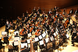 Kansas City Symphony performing in Helzberg Hall. Photo credit: Todd Rosenberg.