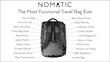 Kickstarter Sales Skyrocket Past $200,000 One Day After Nomatic Introduces Multifunctional Travel Bag