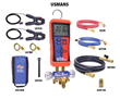 Uniweld's USMAN5 Digital Manifold Kit