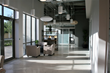 This Class A office facility offers individual and company users to work in an upscale environment with best-in-class finishes including polished concrete floors and floor-to-ceiling glass.