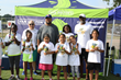 Van Holten's sponsors Gilbert Brown Football Camp and Boys & Girls Club