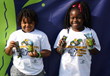 Kids from Boys & Girls Club enjoy Van Holten's Pickles and Pickle-Ice