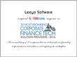 "Leeyo Software Named to ""20 Most Promising Corporate Finance Tech Solution Providers 2016"" by CIOReview"