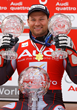 Austria's Stephan Eberharter, Olympic gold medalist, World Champion and World Cup winner