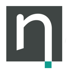 Nasstar PLC's nSquare logo, a smaller and squared version of their main logo.