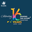 Radixweb Celebrates 16 Years of IT Innovation